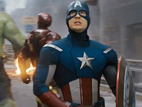 Chris Evans as Captain America In &quot;The Avengers&quot;