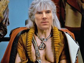 Benedict Cumberbatch imagined in the role of Khan