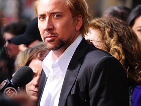 "Nicolas Cage at the ""Kick-Ass"" premiere"