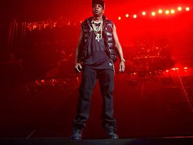 Jay-Z performs at the Barclays Center