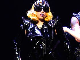 Lady Gaga performs in Montreal on Monday