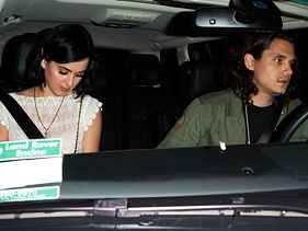 Katy Perry and John Mayer leave Chateau Marmont in Los Angeles on August 2