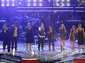 "Finalists of NBC's ""The Voice"""