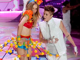 "Justin Bieber at ""Victoria's Secret Fashion Show"""