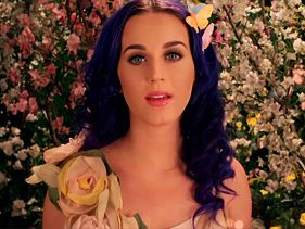 "Katy Perry in her ""Wide Awake"" music video"