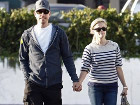 Jim Toth and Reese Witherspoon shopping in September in Malibu
