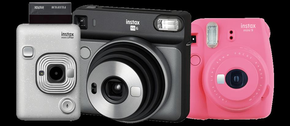 instax Camera range