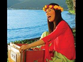 Wai Lana Playing Harmonium