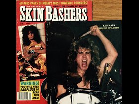 On the cover! Ken Mary, Tommy Lee, and Lars Ulrich