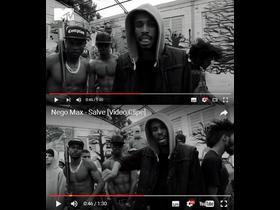 Rhamm Thrash participou do vídeo clip de Nego Max!