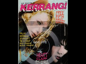 February 27, 1988 Kerrang! Magazine- the band I was in, Fifth Angel, was featured