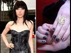 Carly Rae Jepsen at the 55th Grammy Awards in Los Angeles, California. February 10, 2013.