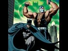 Bane and Batman, as depicted by artist Brian Bolland.