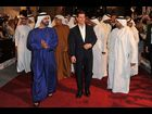UAE Prime Minister Sheikh Mohammed Bin Rashid Al Maktoum and actor Tom Cruise attend the 'Mission: Impossible - Ghost Protocol' Premiere