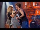"Julianne Hough as Sherrie Christian and Diego Boneta as Drew Boley in ""Rock of Ages"""