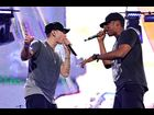 Eminem and Jay-Z perform in Detroit on September 2, 2010