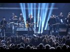 "Bruce Springsteen and the E Street Band open the 2012 Grammy Awards with a rocking rendition of ""We Take Care of Our Own."""