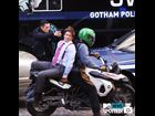 "Joseph Gordon-Levitt and Matthew Modine film a scene of ""Dark Knight Rises"" in Manhattan in front of the Stock Exchange on October 30"